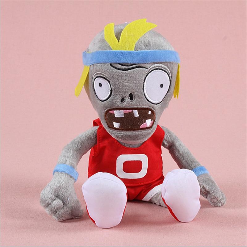 Hot försäljning Växter vs Zombies Plush Leksaker Mjuka Fyllda Plush Leksaker Doll Baby Toy för Kids Gifts Party Toys