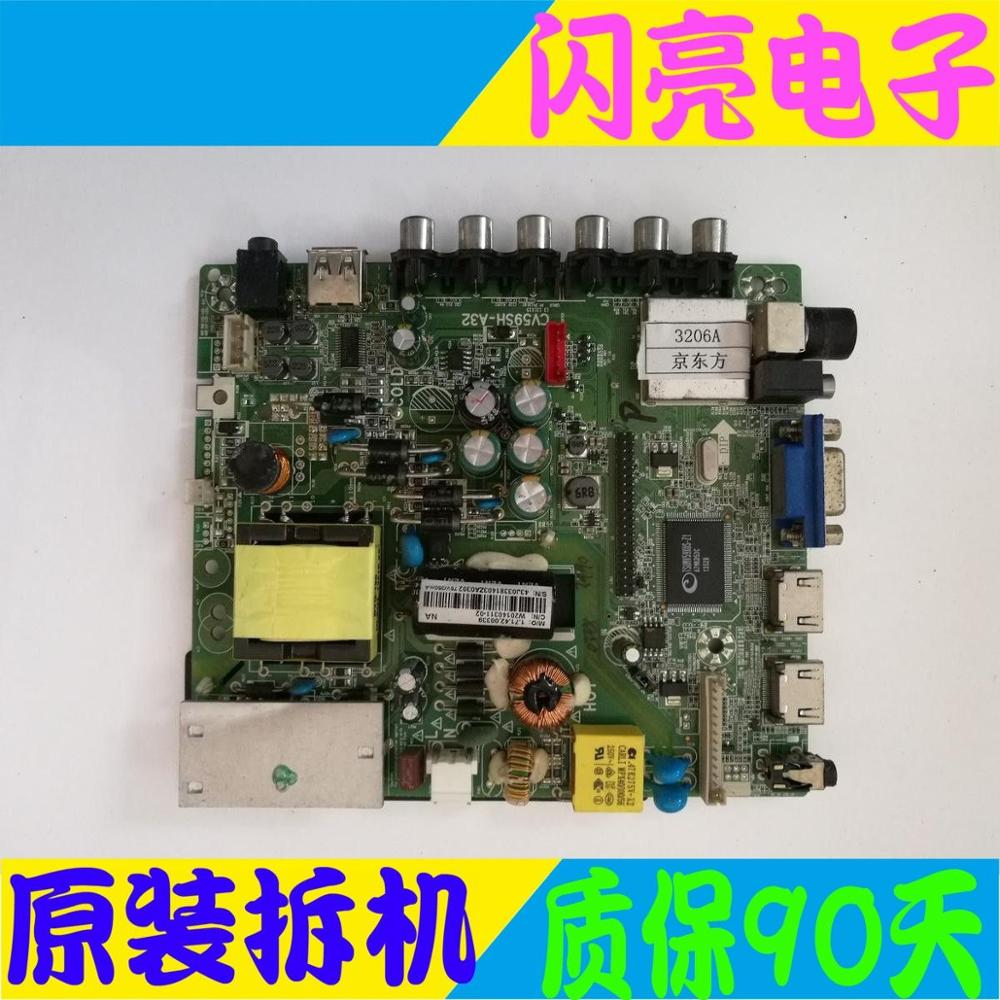 Main Board Power Board Circuit Logic Board Constant Current Board Led Tv-3206a Motherboard Cv59sh-a32 With Screen Hv320wx2-201 Consumer Electronics Circuits