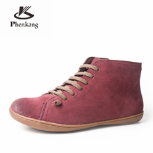 Męskie buty zimowe prawdziwej skóry krowa zamszowe trzewiki w stylu casual wygodne jakości miękkie ręcznie płaskie buty czarny brązowy z futra