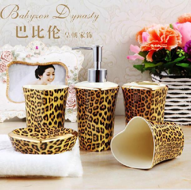 Mode Keramik Badezimmer set Fnf Stcke Hohe Qualitt ...