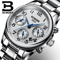 Switzerland BINGER женские часы  роскошные брендовые кварцевые часы  женские водонепроницаемые часы  Sapphire  наручные часы  B-603W1
