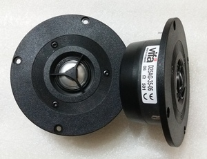 Image 1 - VIFA D25AG 35 06 altavoz de Tweeter de aluminio Original, 4 pulgadas, Unidad de controlador de cúpula, magnetismo blindado, 6ohm Fs = 1500Hz 100W D104mm, 2 uds.