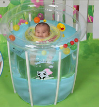 Newborn Baby Swimming Pool Mambary Support BabyTtransparent Insulation Household Baby Infant Swimming Pool Bucket