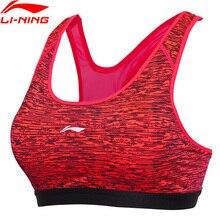 (Clearance) Li-Ning Women's Running Bras Medium Support Tight Fitness 83% Polyester LiNing Breathabl