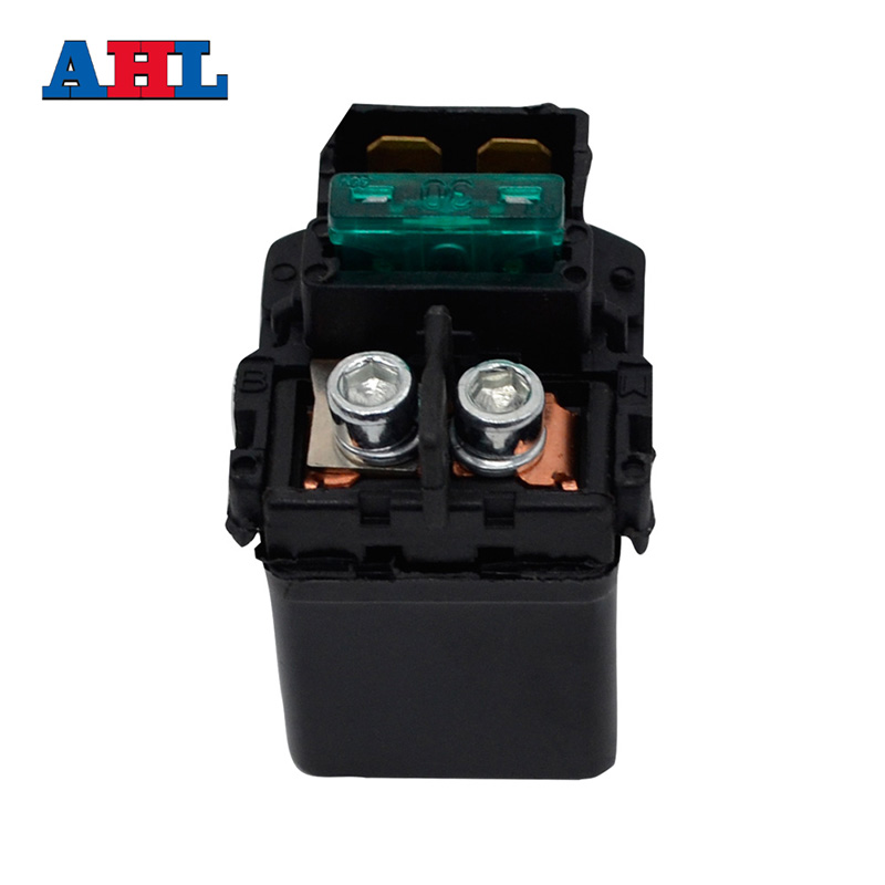 Will not fit F//G//H 2002-Now AHL Starter Solenoid Relay for Kawasaki KVF650 A//B//D//E Prairie//Brute Force