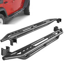 Фотография For 2007-2016 Jeep Wrangler JK 4 Door Side Step Armor Guard Bar Running Board