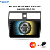 Funrover 10 1 Quad Core 1024 600 Android 8 0 Car DVD GPS Navigation Player Deckless