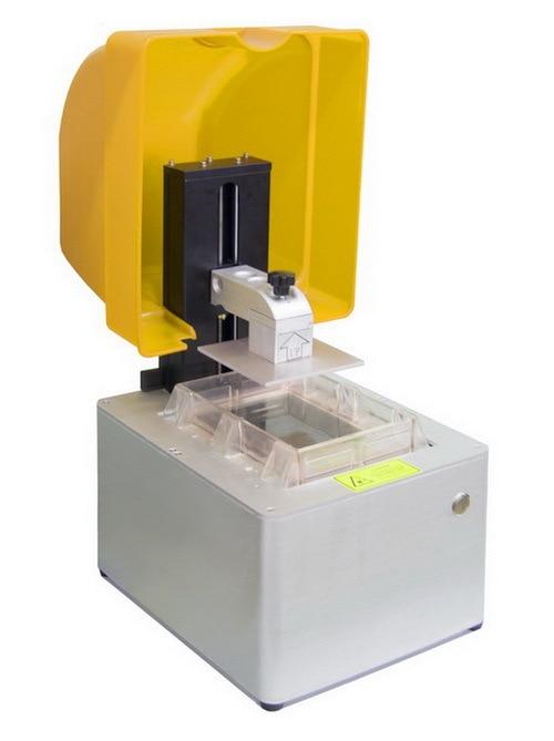 SLA 3D Printer Liquid photosensitive resin filament print size 125 125 180mm Fastest printing speed 6000mm