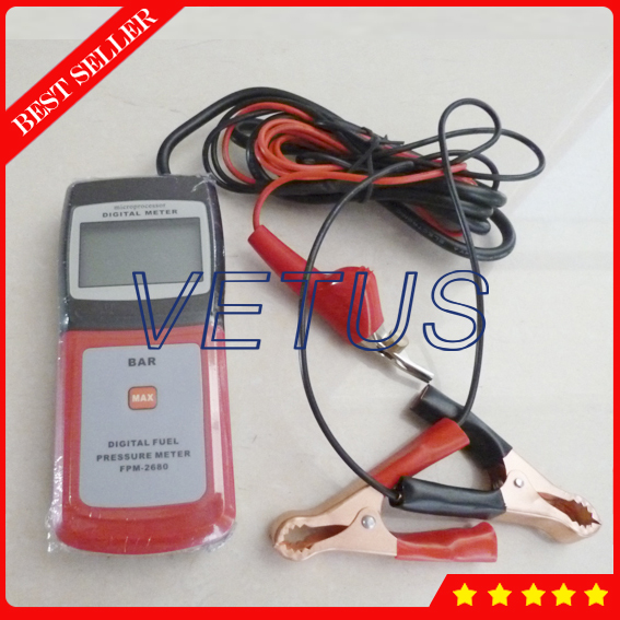 FPM2680 jauge de testeur de pression de carburant numérique