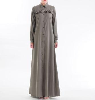 1f9a71ba48 Nueva marca de las mujeres árabes vestido largo musulmanes vestidos de  fiesta musulmana traje chaqueta Ropa Étnica clavando de algodón de punto  vestido de