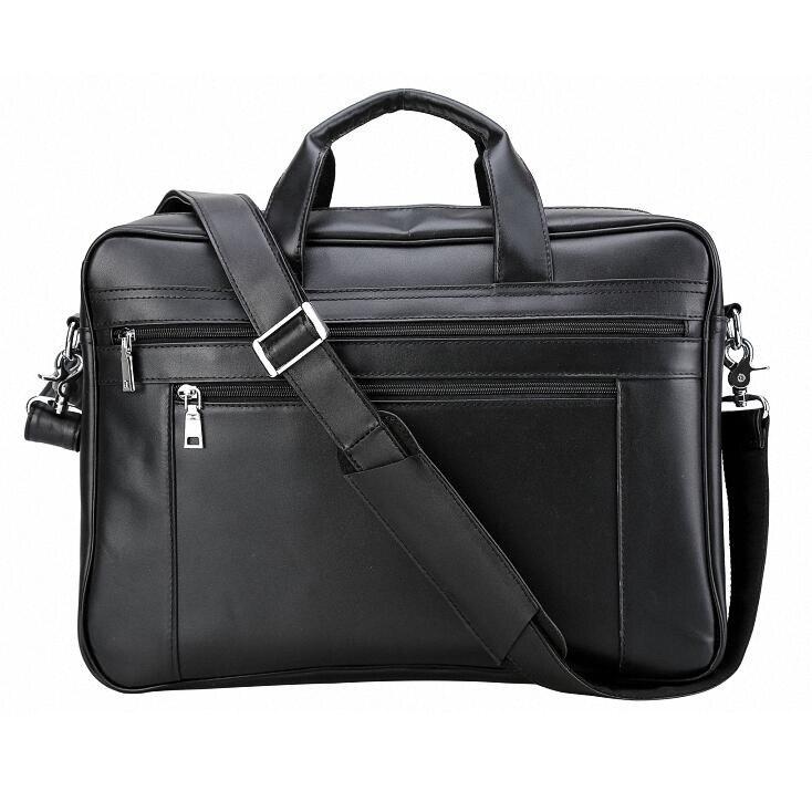 Men Briefcase Mens Leather Laptop Bag 16 Inch Multifuntional Business Computer Laptop CaseSatchel Tablet Bussiness Carrying Handbag for Men 2 Colors Business Bag Color : Light Brown