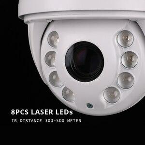 Image 3 - 직업적인 PTZ IP 사진기 옥외 3516A + Sony335 4.6mm 167mm 진짜 36X 급상승 레이저는 300m CCTV 안전 방수 G.Craftsman