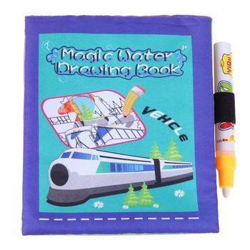 Boyama Sihirli Su çizim Kitabı Bebek Okul öncesi Eğitici Oyuncak
