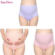 3 PCS/Pack Low Waist Pregnancy Underwear Pants Cotton Women Maternal Pant Clothes Size