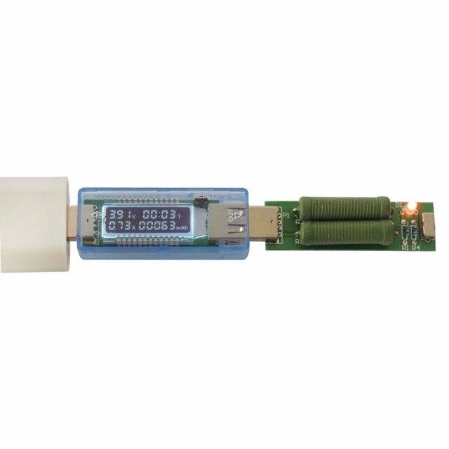 USB Voltmeter Ammeter Tester Digital Display USB Charger Doctor Capacity Current Voltage Detector Meter Battery Tester