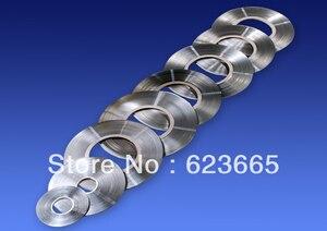Image 4 - T0.15 W12mm بيور النيكل حزام 18650 26650 بطارية النيكل لوحة 0.15*12 ملليمتر النيكل محطة 99.9% بيور النيكل قطاع