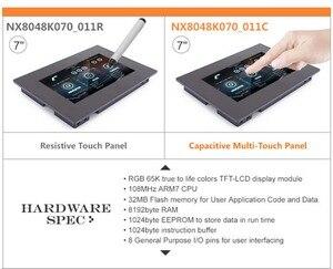 Image 2 - 7.0 inç Nextion geliştirilmiş rezistif NX8048K070_011R USART HMI LCD dokunmatik ekran modülü ekran w/muhafaza Arduino ahududu