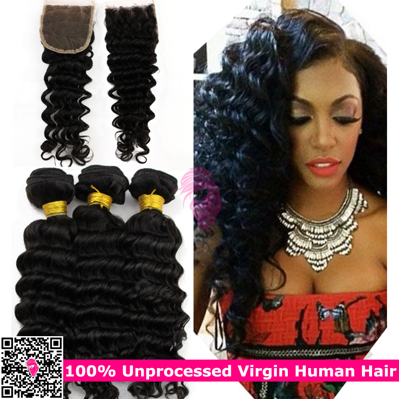 Online shop unprocessed raw virgin indian deep wave curly hair online shop unprocessed raw virgin indian deep wave curly hair bundles with lace closures indain remy human hair weave and closure indi remi aliexpress pmusecretfo Choice Image