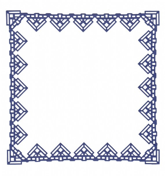 Lace Edge Frame Cutting Dies Stencil DIY Scrapbooking Envelope Paper Card Decor