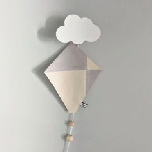 ФОТО Cloud wooden hook for boy kids room wall decorate boy room ECO  hanger hook kids present