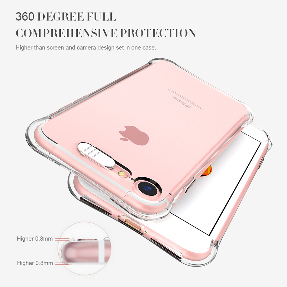 Flash TPU Case For iPhone 6 6S 7 Plus 5 5S SE YYF (3)