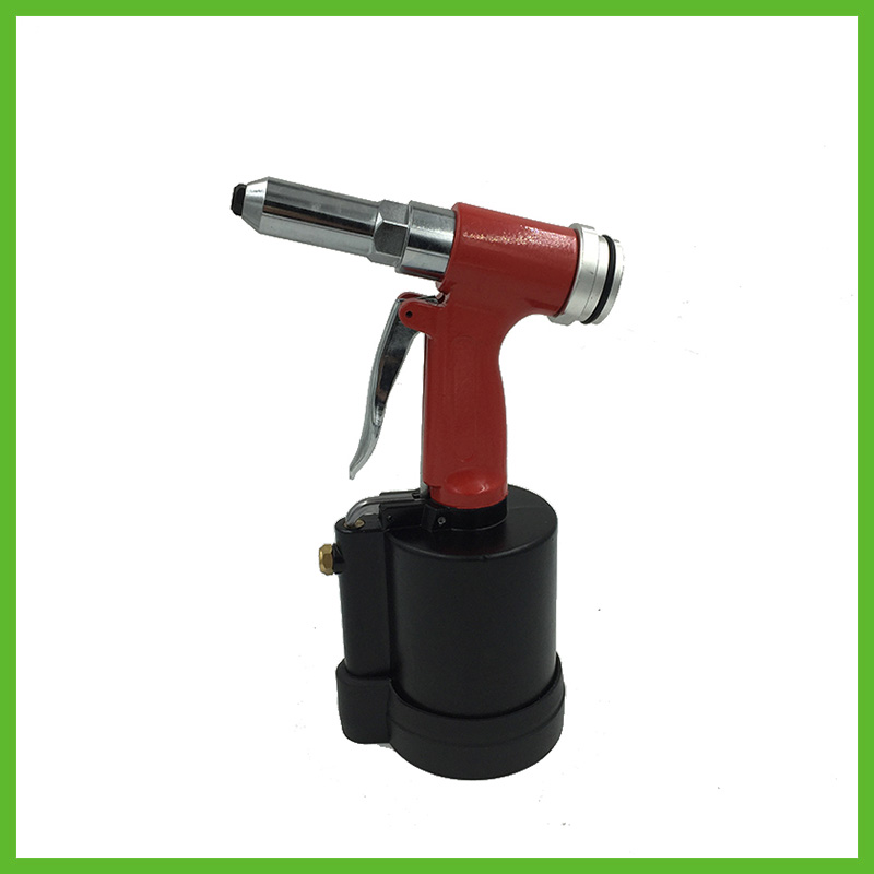 SAT6634 high quality hand air riveter gun pneumatic brad for Air Rivet Gun 3/16'' With Silencer&Rubber Base sat0109 high quality impact wrench pneumatic rivet gun air cylinder