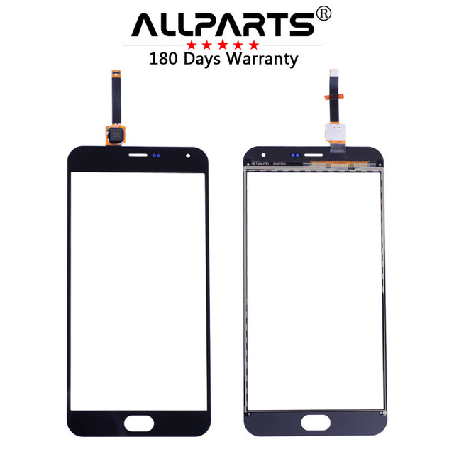 "ALLPARTS 100% TESTED 5.5"" Touch Screen For Meizu M2 NOTE Touch Screen Front Glass Panel Digitizer Replacement Parts"