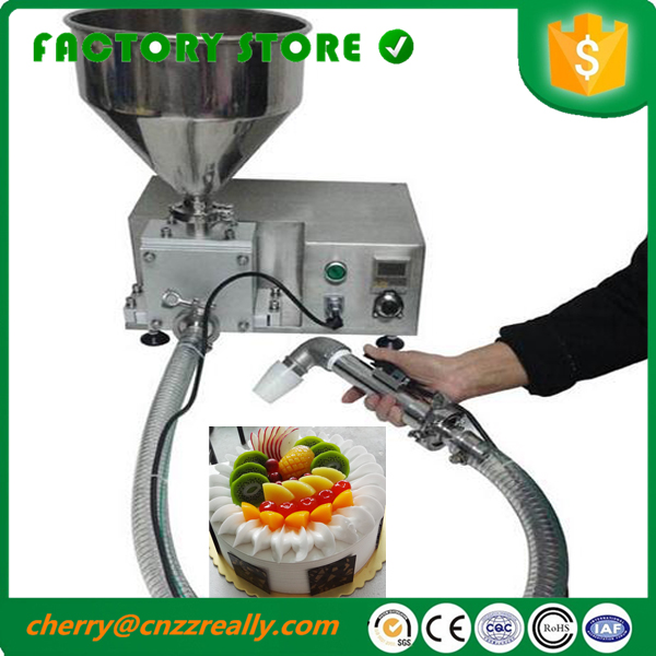 Automatic Stainless Steel Cream Injection Filler Filling Machine 10-100ML Food Grade With CE