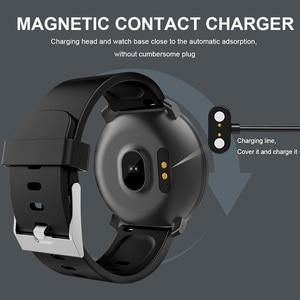 Image 5 - M31 Akıllı Erkekler nabız monitörü Izle spor fitness takip chazı Bilezik Tam Ekran Dokunmatik Çok Dilli Android IOS Için Smartwatch
