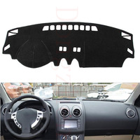 Dongzhen Fit For Nissan Qashqai 2008 To 2015 Car Dashboard Cover Avoid Light Pad Instrument Platform