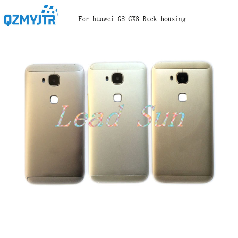 High quality replacement For Huawei G8 GX8 back housing Battery Cover Back Rear Door with font