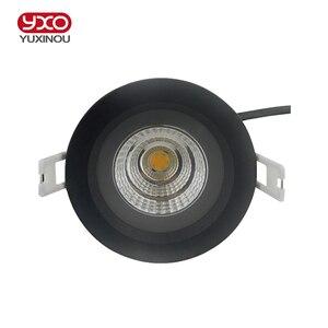 Image 2 - Kısılabilir su geçirmez led aşağı ışık TOPAK tavan Spot ışık 5w 7w 9w 12w tavan gömme ışıkları sıcak soğuk beyaz iç mekan aydınlatması