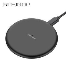 Rosinop QI Wireless Charger 10W For apple iphone Fast Charging 5W Induction samsung S9 S8 Note8 9