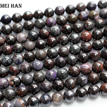 Wholesale (1 strand) natural precious Sugilite stone 6+ 0.2mm smooth round loose beads for jewelry design DIY making