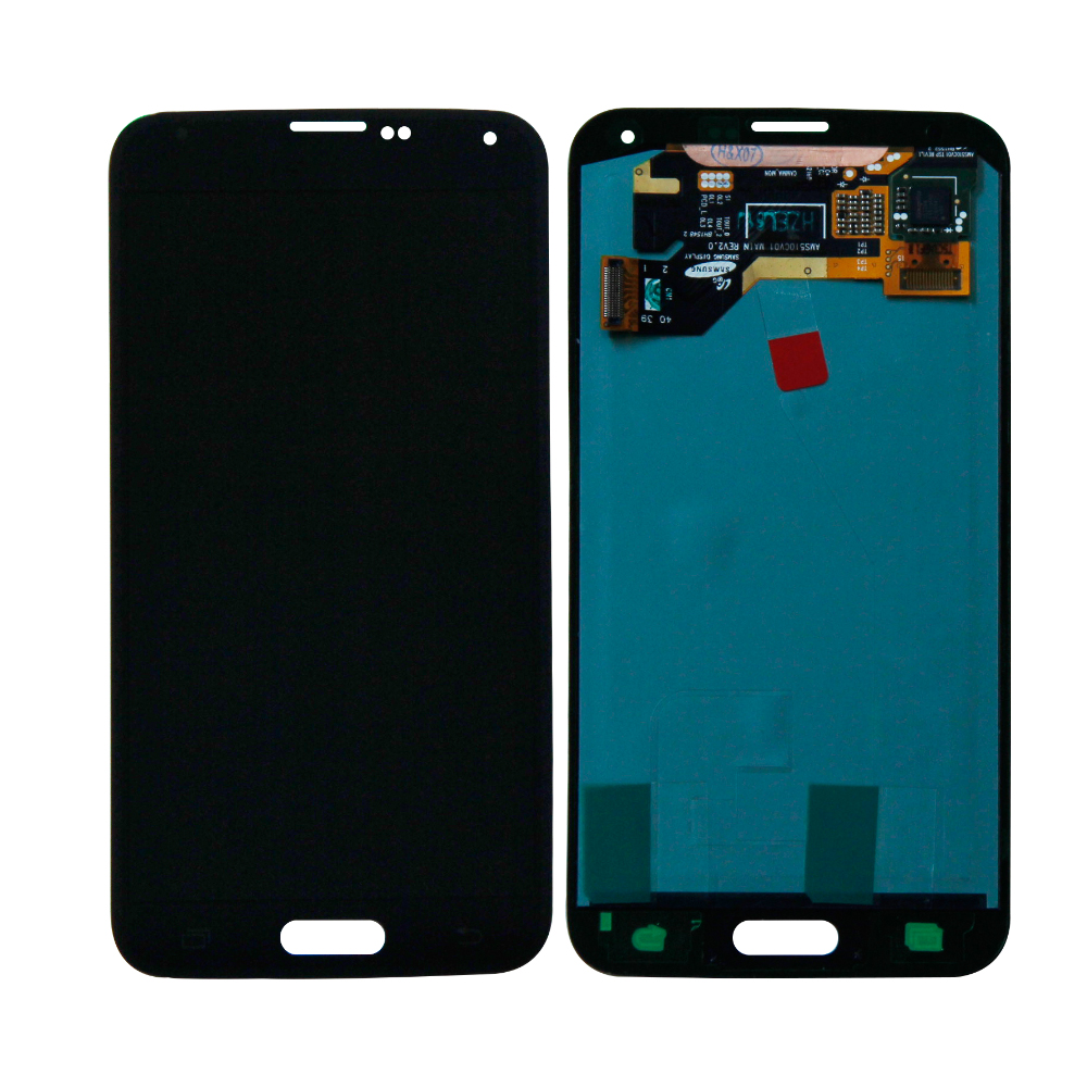 For Samsung S5 SM-G900T SM-G900V G900A G900P G900F <font><b>G900H</b></font> Touch Screen Digitizer Lcd <font><b>Display</b></font> Assembly Replacement Free Shipping image