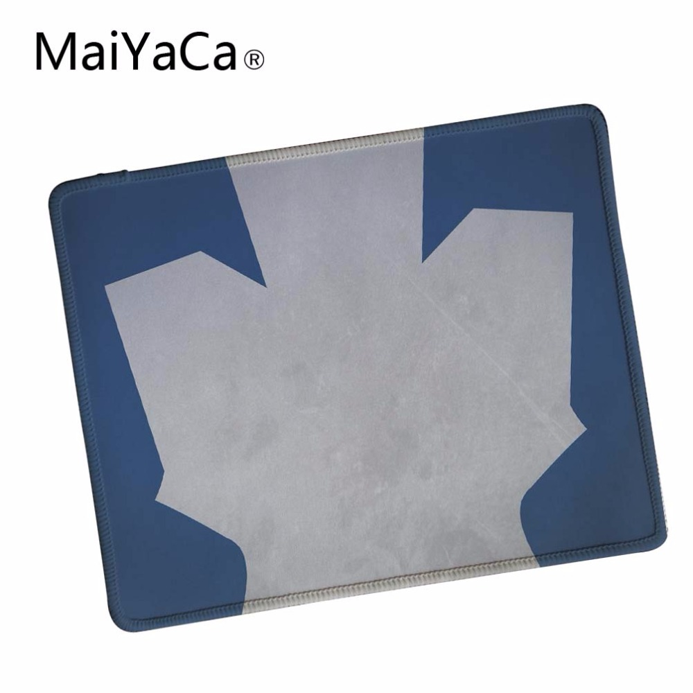 MaiYaCa Toronto Maple Leafs desktop Computer Mouse Pad Mousepads Decorate Your Desk Non-Skid Rubber Pad Lock Edge Mouse Pad