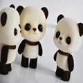 022326 atacado PVC reunindo modelo panda crianças boneca brinquedos para meninas presente decoração da mesa Frete grátis