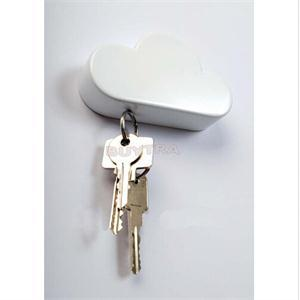 Cool Simple Keys Magnetic Hangers Home Storage Holder White Cloud Shape  Wall Sticked Magnets Key Holder