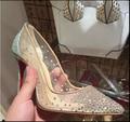 2017 Сексуальная обувь diamond club кружевные туфли женские свадебные туфли модные туфли на шпильке насос Ночной Клуб сексуальные невесты свадебные туфли 10 см 12 см