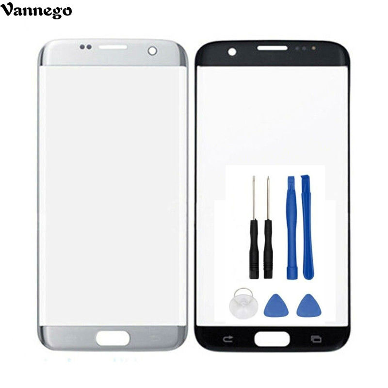 Vannego Glass Touch Panel for Samsung Galaxy S7 Edge G935F G9350 Front Outer Glass Lens Cover Touch Screen
