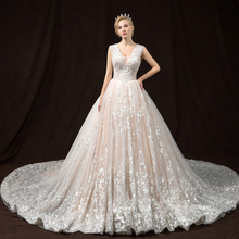 SIJANEWEDDING Vestido de Noiva Luxury Wedding Party Dress
