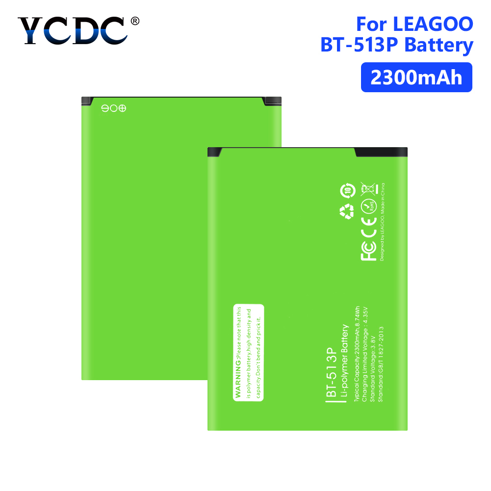 Genuine 2300mAh BT-513P Battery For <font><b>LEAGOO</b></font> <font><b>M5</b></font> BT513P Cell Phone Replacement High Quality Real capacity Internal Phone <font><b>Bateria</b></font> image