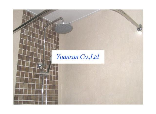 Cheap Stainless Steel Curved Shower Rod Curtain Does Not Rust Send