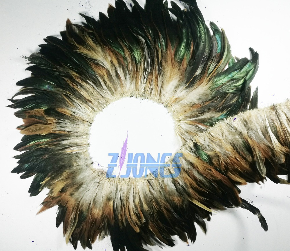 Wholesale 900pcs/Bundle 6-8inch Natural Rooster Hackle Feathers Coque Feathers For Home Party Ornaments Carnival DIY Decoration