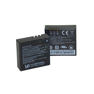 Image 4 - ためriginal xiaomi李4 18kバッテリーAZ16 1 usbデュアル充電器李4k + アクションカメラliteのアクセサリー1400mah充電式バッテリー