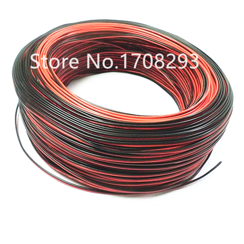 200m 657ft 20awg extension cable wire 2pin cord for led strips single colour 3528 5050 5630 2835. Black Bedroom Furniture Sets. Home Design Ideas