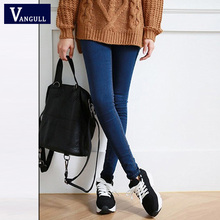 Autumn New Style Women s Clothing High Quality Women Fashion Slim Jeans Female washed casual skinny