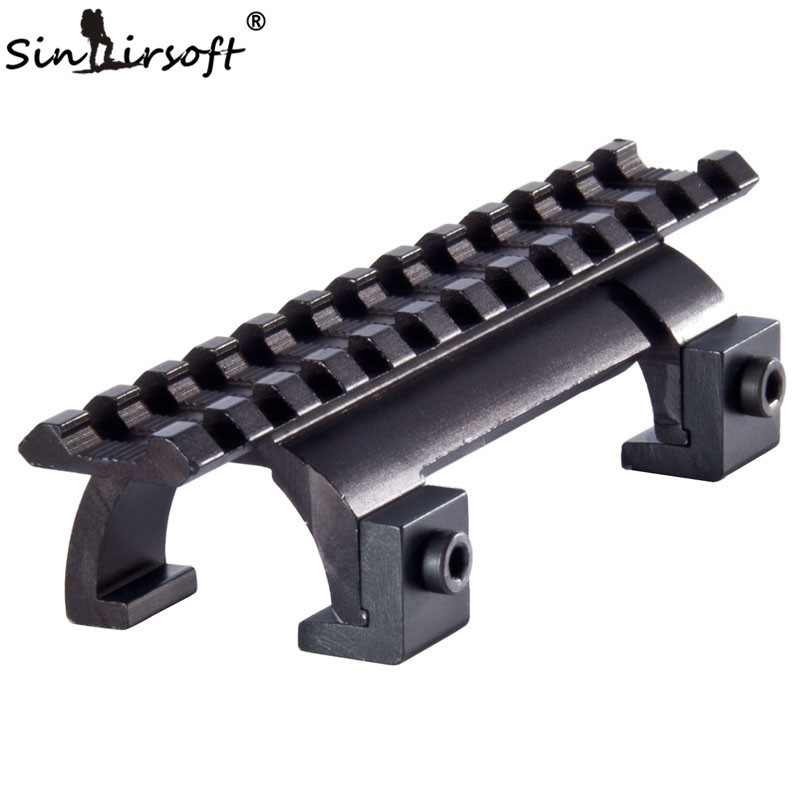 SINAIRSOFT Style MP5, MK5,HK, G3,GSG5 Claw Scope Mount For Paintball Hunting Rifle Picatinny/Weaver Rail Handguard -MDMP5