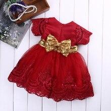 602621c31467 Vestito Dalla Ragazza di autunno Manica Lunga Floreale Principessa Delle  Neonate Pizzo Abiti Da Sposa In