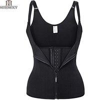 Hot Shapers Neoprene Sauna Sweat Vest Waist Trainer Cincher Women Body Slimming Trimmer Corset Workout Thermo